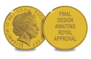 uk c2a35 gold - New UK Royal Wedding Coin Announcement