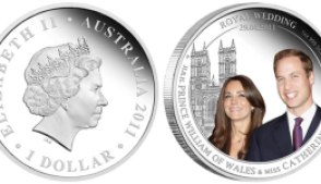 australia royal wedding 1oz silver coin - Designs unveiled for new Commonwealth Royal Wedding coins