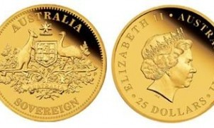 2011 australia sovereign - 2011 Australia Sovereign issued by Perth Mint