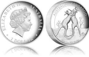 2010 australian kangaroo 1oz silver proof high relief coin - 2011 Australian Kangaroo Silver Proof High Relief coin to be released