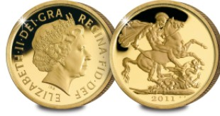 2011 sovereign both b286b3 - 2011 UK Gold Sovereign sells out at Royal Mint