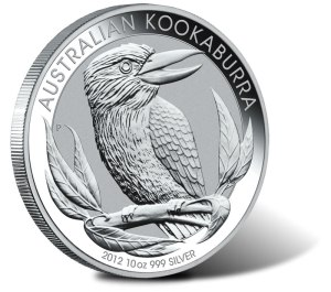 2012 australian kookaburra silver coin - Sell out issue returns for 2012