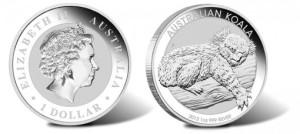 2012 australian silver koala coin 1 oz 510x228 - Iconic Koala coins return for 2012