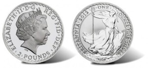 2012 britannia silver bullion coin - 2012 Britannia Silver Coin Released