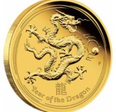 2012 lunar dragon gold reverse - Year of the Dragon set to herald increased demand for gold coins