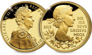 diamond jubilee uk gold plated silver c2a35 - Queen marks Accession Day as Diamond Jubilee celebrations draw near