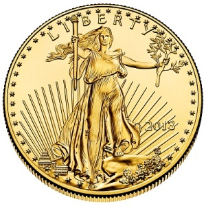 2013 American Eagle Gold Bullion- obverse