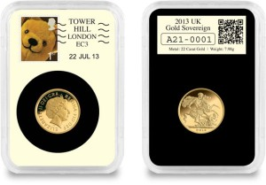 datestamp 22 07 2013 gold sovereign - The £56 million Collecting Sensation