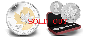 rcm sold out - 25th Anniversary collectors miss out on Silver Maple Leaf