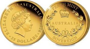 cpm coin template - Do you know about the Gold Sovereign from Down-under?