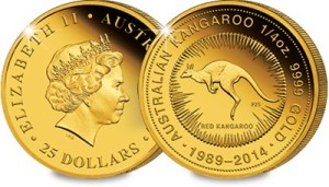 imagegen 1 - Are Australia's Quarter Ounce Gold Coins the next collecting phenomenon?