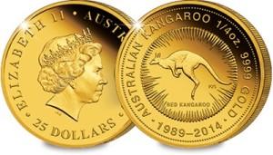 imagegen 1 - Are Australia's Quarter Ounce Gold Coins the next collecting phenomenon?