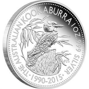 silver kookaburra - 2015 Kookaburra 1oz Silver Sells Out