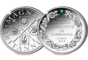royal baby silver - Commemorate the birth of Her Highness Princess Charlotte of Cambridge