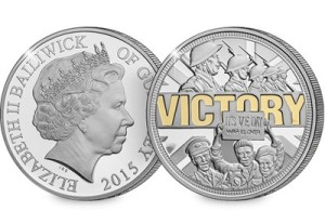 ve day - 70th Anniversary of VE Day coin launched
