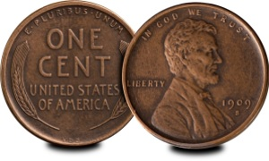 "lincoln penny obvrev - The most lucrative ""hobby investments"" over 10 years"
