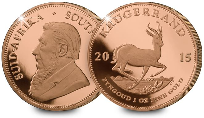 2015 1oz gold krugerrand - 10 facts about the world's most popular gold coin