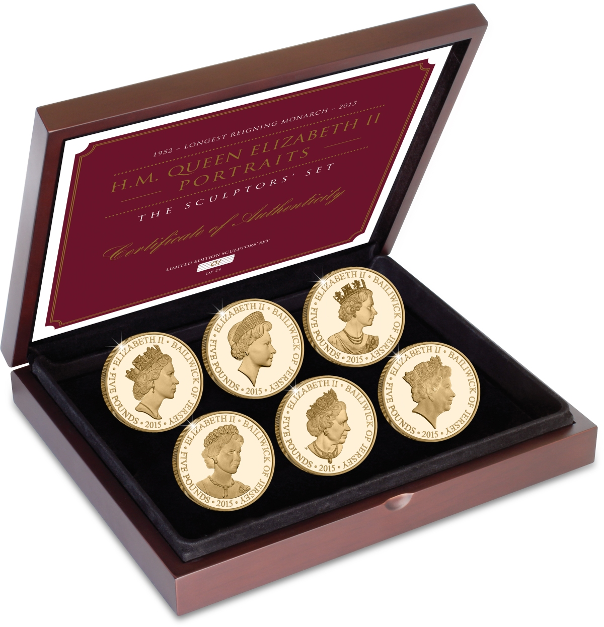 st qeii portrait gold set in box with cert - The fastest sell-outs of 2015… and my tips for 2016