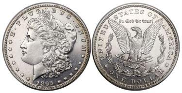 1895 morgan dollar - The story of the King of the Morgan Dollars
