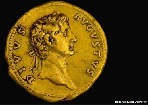 """augustus coin find - """"Rare on a global level"""" – 2,000 year old coin found"""