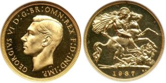 kgvi sov - High prices expected at rare Sovereign auction