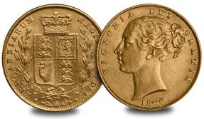 qv sov - High prices expected at rare Sovereign auction
