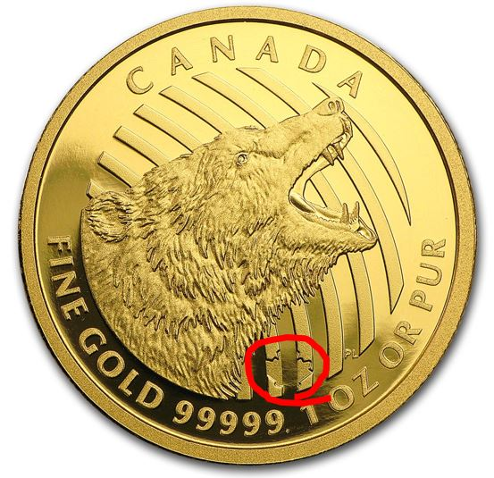 roaring grizzly error - A brand new error coin has just been discovered