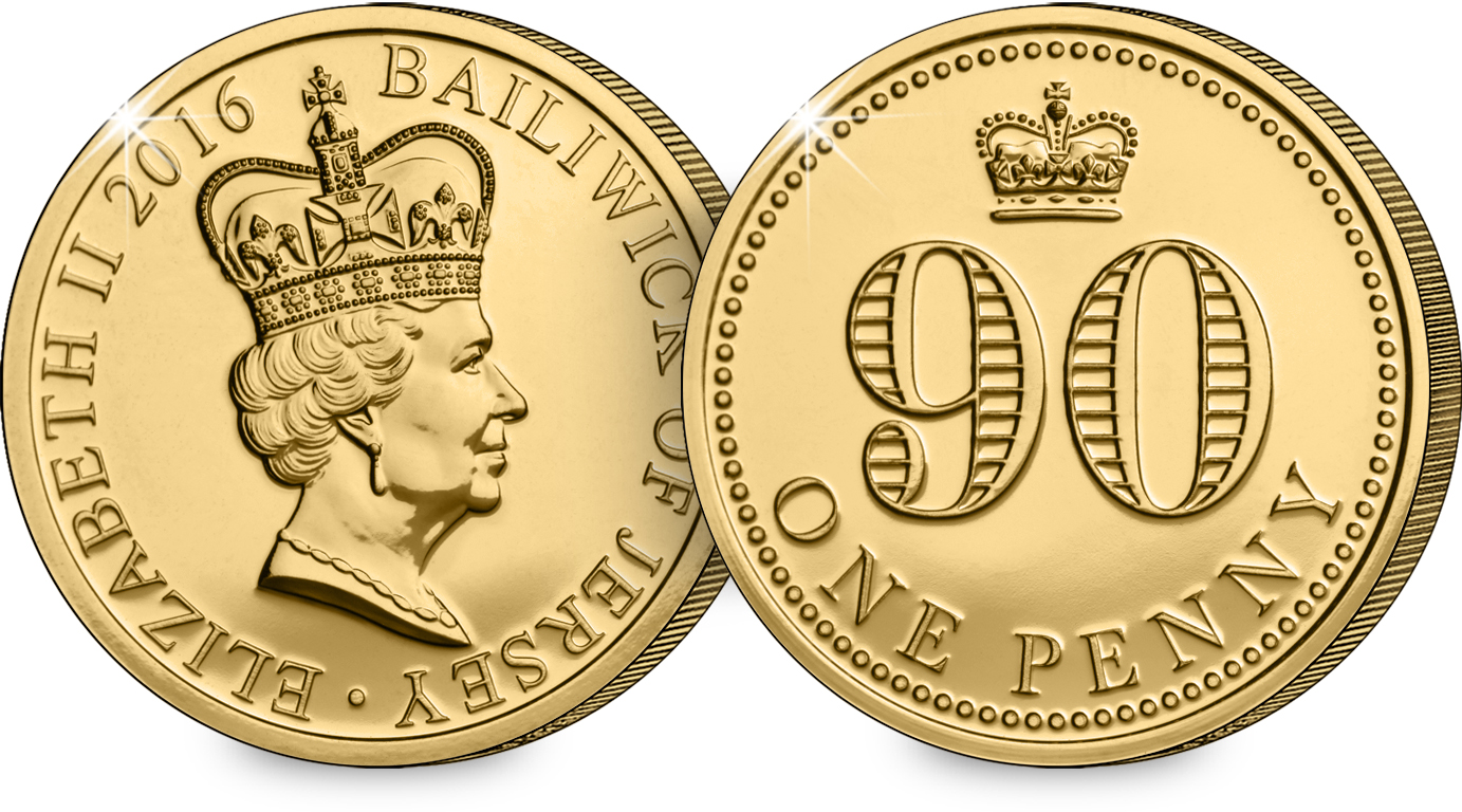 the queens 90th jersey gold bu penny both sides - Your guide to owning commemorative gold bullion coins