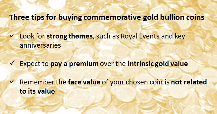 three tips for buying commmemorative gold bullion coins1 - Your guide to owning commemorative gold bullion coins