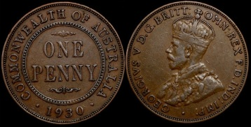 1930 penny - The Australian coin everyone should know about