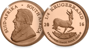 p113 quarter ounce kruger - Rare gold coin dropped in charity box