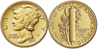 p861 mercury dime coin - Demand for gold hits new heights in 2016