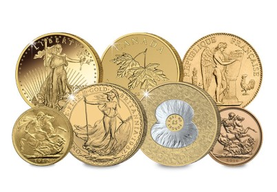 gold coins - Demand for gold hits new heights in 2016