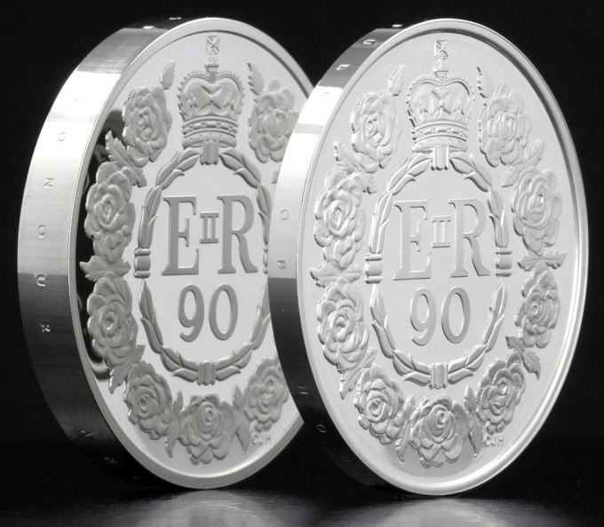 p413 thickness - The Queen's birthday £5 coin worth £4,500 sells out