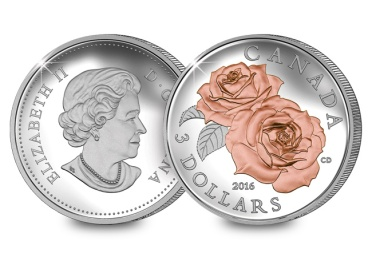 qeii 2016 rose coin - US Mint to produce pink coin for breast cancer awareness