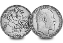 edward vii silver coro crown coin - The best luxury investments of 2015 were…