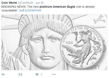 platinum eagle - A lot can happen in 56 minutes…