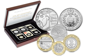 2017 datestamp specimen set - Unveiled today: The UK's 2017 coin designs