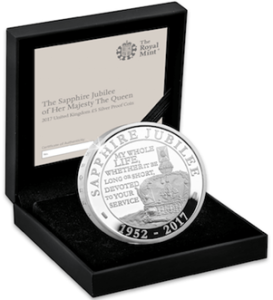 sapphire jubilee box - Why the UK's Sapphire Jubilee issues sold out in record time