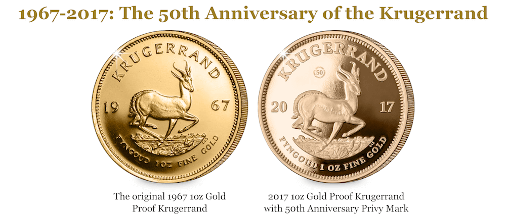 cpm krugerrand 50th anniversary comparison - 9 things you need to know about the world's most popular gold coin