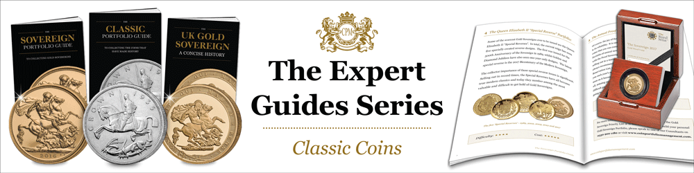 expert guide series blog banner classic coins - The Expert Guides Series: Adding Classic Coins to your Portfolio