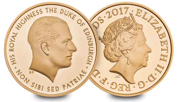 prince philip coin - BREAKING NEWS: The Royal Mint announces a brand new UK Prince Philip coin