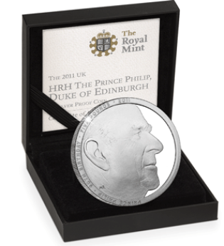 prince philip 90 silver proof coin in box - Why Prince Philip coins are so important to collectors